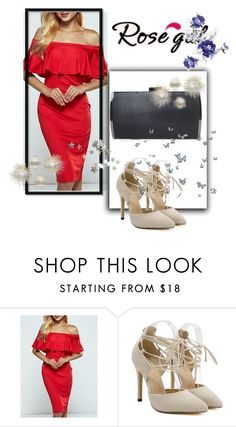 """Red-22"" by ermansom ❤ liked on Polyvore featuring rosegal"