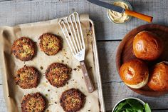 Sun-Dried Tomato and Basil White Bean Veggie Burgers