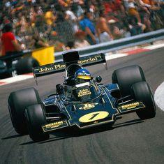 Ronnie Peterson....mi idolo cuando inicio mi gusto por la F1....