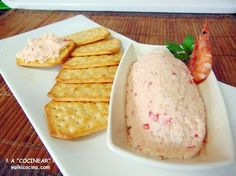 Appetizer Dips, Appetizer Recipes, Nibbles For Party, Salty Snacks, Canapes, Sin Gluten, Tapas, Easy Meals, Food And Drink