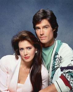 Hunter Tylo and Ron Moss -Taylor and Ridge Forrister (B&B)