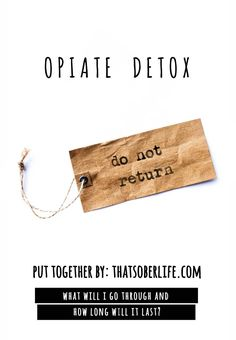 how to make opiates at home