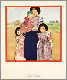 Spakenburger klederdracht - Het Geheugen van Nederland - Online beeldbank van Archieven, Musea en Bibliotheken