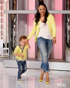 Tomorrow a mommy and me fashion show on the @therealdaytime