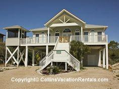 Bella's Beach House ~ West Gulf Beach ~ Beach Access ~ St. George Island Florida - Collins Vacation Rentals