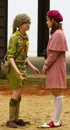 Moonrise Kingdom (2012). Costume designs by Kasia Walicka-Maimone
