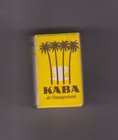 KABA - this cocoa-drink is what we used to get at my Oma's(Grandma's) in Bavaria with 1 big table spoonfulls of sugar ; Good Old Times, The Good Old Days, My Childhood Memories, Do You Remember, Vintage Travel Posters, Worlds Of Fun, Vintage Children, Alter, Time Travel