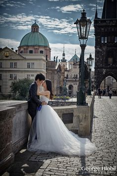 Prague pre wedding photographer George Hlobil