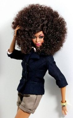 barbie afros