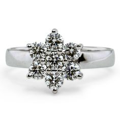 Be inspired by our recent designs of custom engagement rings. All custom ring designs can be modified to create the perfect ring for you! Our custom ring design specialists will guide you through the simple step by step process to life. Pretty Engagement Rings, Diamond Engagement Rings, Unique Rings, Beautiful Rings, Snowflake Ring, Opal Wedding Rings, Custom Jewelry Design, Custom Design, Cluster Ring