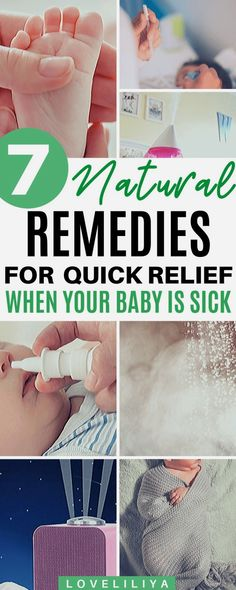 Everything You Need to Know to Survive Baby's First Cold - Natural Remedies for Surviving Your Baby's Flu/Cold – LoveLiliya - Baby Cold Remedies, Natural Sleep Remedies, Cough Remedies, Herbal Remedies, Cold Remedies For Infants, Holistic Remedies, Natural Cures, Baby Flu, Baby Colds