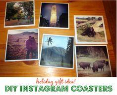 DIY Instagram Coasters | The Kicksend Blog (http://blog.kicksend.com/holiday-gift-idea-diy-instagram-coasters/)