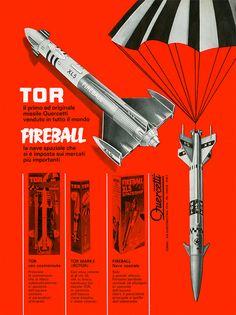 Fireball e Tor, via Flickr. #Quercetti