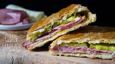 Sandwiches are always favorites for everyone. Especially kids like to eat sandwiches. There are many kinds of sandwiches are best on their own. We eat some in… Cuban Recipes, Pork Recipes, Cooking Recipes, Chorizo Recipes, Copycat Recipes, Free Recipes, Easy Recipes, Healthy Recipes, Picnic Sandwiches