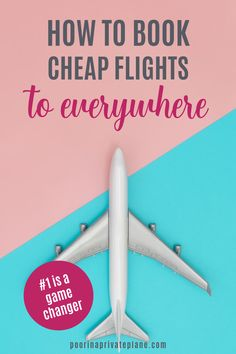 Learn how to find cheap flights. Whether you're looking for a last minute deal, a dream trip to Europe or a vacation in the Caribbean. These tips and tricks will show how to get the cheapest flight every time Book Cheap Flights, Find Cheap Flights, Travel Info, Travel Tips, Travel Hacks, Travel Checklist, Budget Travel, Become A Travel Agent, Best Flight Deals