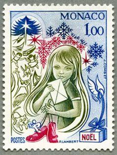Stamp Monaco 1978