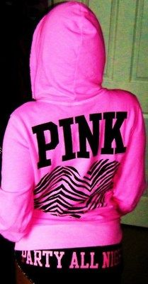 My favorite lightweight VS PINK zip up hoodie! Yes, I own in every color! Of course!!