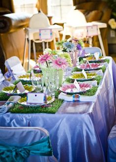Garden Fairy Party (maybe a baby girls first birthday party)