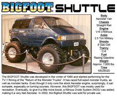 BIGFOOT Shuttle « Bigfoot 4×4, Inc. – Monster Truck Racing Team