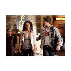 Steven R. McQueen ❤ liked on Polyvore featuring vampire diaries, couples, steven r. mcqueen, the vampire diaries and tvd