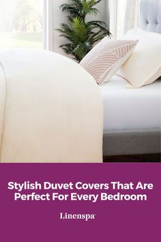 In need of an affordable way to transform your bedroom? Duvet covers are the perfect choice! Here are some stylish, affordable duvet covers that would meet all of your needs. Home Decor Accessories, Bed Sheets, Duvet Covers, Comforters, Bed Pillows, Pillow Cases, Essentials, Meet, House Design