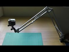 HOW TO MAKE AN OVERHEAD CAMERA SWING ARM MOUNT - YouTube