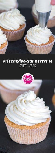 Diese standfeste Sahnecreme ist hervorragend als Topping für Cupcakes oder für Tortenfüllungen geeignet.