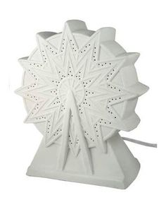 Porcelain Ferris Wheel Lamp  $50.00