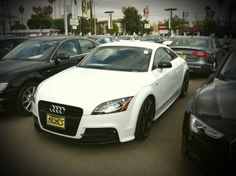 Perfect Audi for the Track Enthusiast: 2014 Audi TT with S-Line Competition Package at Keyes Audi. http://www.keyesaudi.com/inventory/new.html?manufacturer=Audi&model=TT&start_index=1