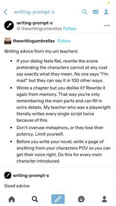 Book Writing Tips, English Writing Skills, Creative Writing Prompts, Writing Words, Writing Help, Writing Ideas, Writing Promts, Writing Characters, Writing Inspiration
