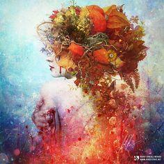 Hot Digital Art by Mario Sánchez Nevado