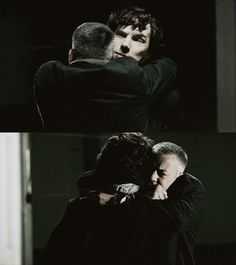 Lestrade's reaction was so cute and heartwarming.