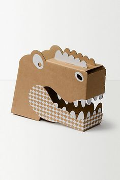 Flatout Frankie Dinosaur Head #anthropologie