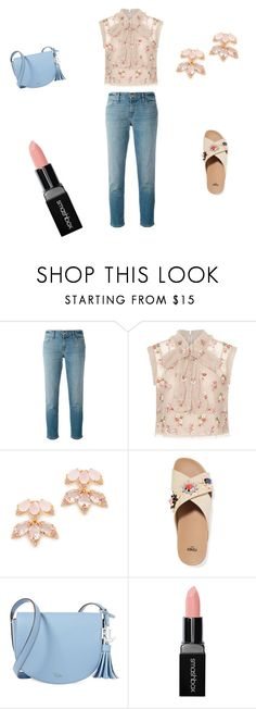 """Untitled #75"" by abantescu23 ❤ liked on Polyvore featuring J Brand, Needle & Thread, Kate Spade, Fendi, Lauren Ralph Lauren and Smashbox"