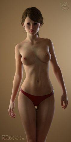 woman body 3D