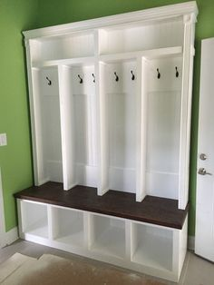 Entryway Locker Hall Tree Storage Locker Mudroom By CMPFurniture