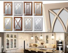 To make the kitchen decoration becomes more attractive, sometimes you need the glass kitchen cabinet doors to display. Choosing the glass front design...