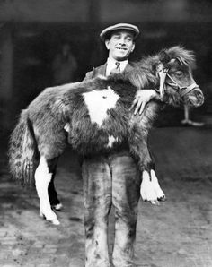 vintage photo - pony lift