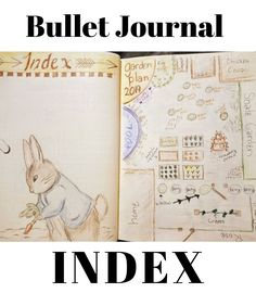 Bullet Journal Index Page Ideas with Examples and Tips For Design