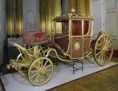 Coronation Carriage | Russia | 1793 | wood, iron, bronze, velvet, leather | Hermitage | Inventory #: ЭК-6