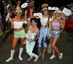 Hipster Disney Princesses | Comic-Con 2013 Cosplay Gallery - Rotten Tomatoes