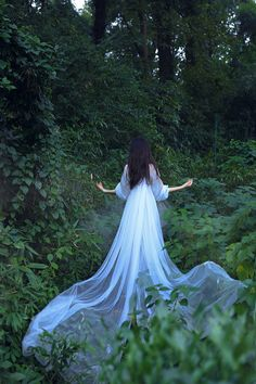 She was born in the forest, raised by the fairies...