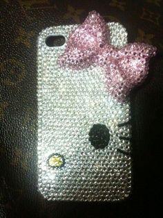 Hello Kitty jeweled phone case <3