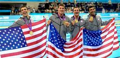 Gator Ryan Lochte snags his second gold medal as he helps team USA win the 4x200-Meter Freestyle Relay!