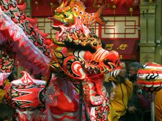 Chinese Dragon, London 2009