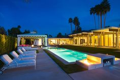 Sierra Grand, a 4-bedroom plus den, 4-ensuite bath Hollywood Regency-style home