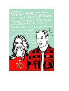 Toronto designer Wendy Tancock creates whimsical and kitchy Canadiana greeting cards that are sure to make you smile.