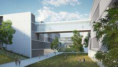 // BGU University North Campus Master Plan // Chyutin Architects http://www.chyutin.com/