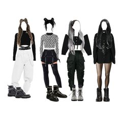 So am i// sn 2 music Bella, zen, mira, brit Kpop Fashion Outfits, Blackpink Fashion, Ulzzang Fashion, Stage Outfits, Edgy Outfits, Mode Outfits, Korean Outfits, Dance Outfits, Korean Fashion