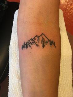 Little mountains tattoo